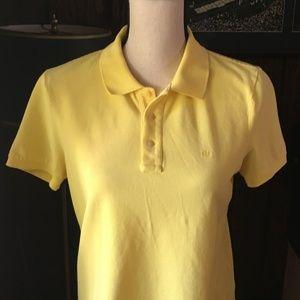 Lauren Ralph Lauren Polo Yellow Short Sleeve